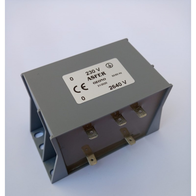 Transformador Ozono 2640 V