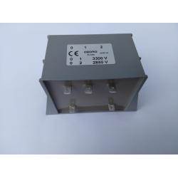 Transformador Ozono 3300V - 2850V