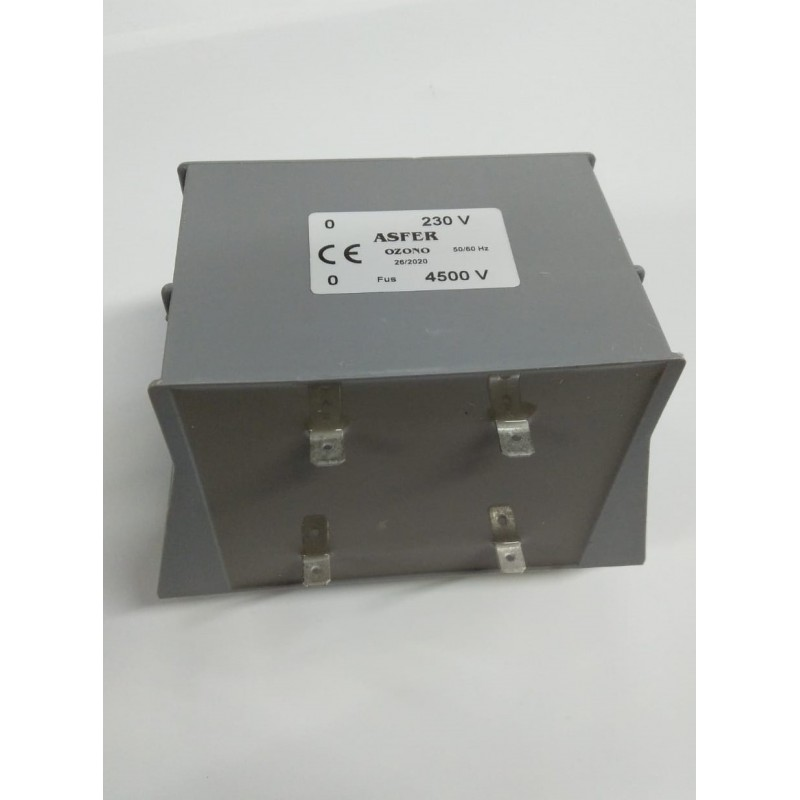 Transformador Ozono 4500 V Cortocircuitable