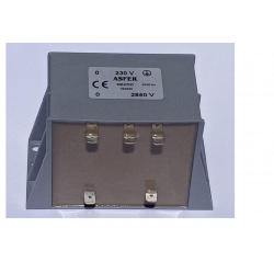 Transformador Ozono 2850 V Cortocircuitable