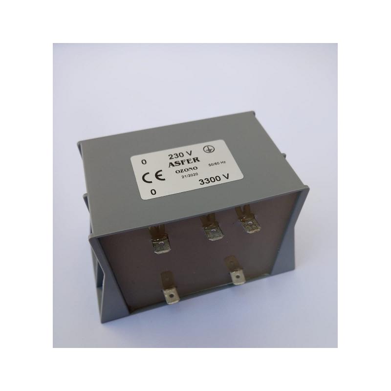 Transformador Ozono 3300V Cortocircuitable