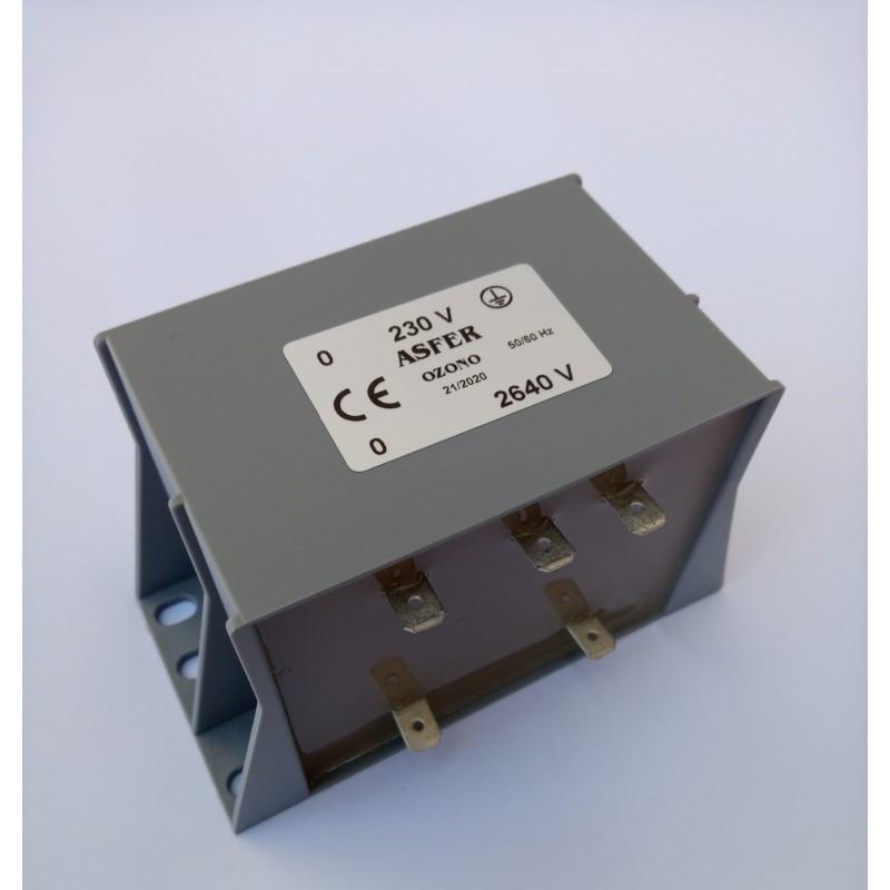 Transformador Ozono 2640 V Cortocircuitable
